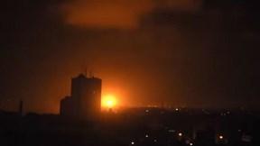 Israel bắn phá ác liệt các mục tiêu ở Gaza