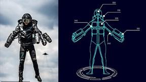 Xuất hiện bộ giáp phản lực Iron Man ngoài đời thực