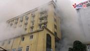 Cháy quán karaoke lớn nhất TP Vinh, một người chết