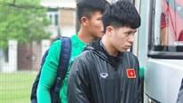 Đình Trọng 'biến mất' trên sân tập; Huỳnh Tấn Sinh tự tin gặp U23 Thái Lan
