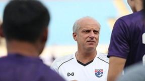 U23 Thái Lan 'tập như chơi' trên sân Mỹ Đình, tự tin đối đầu Indonesia