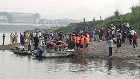 Hiện trường 8 học sinh chết đuối thương tâm ở Sông Đà