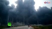 Nhà máy hóa chất phát nổ gây chấn động Trung Quốc