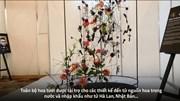 Mãn nhãn hàng nghìn lẵng hoa nghệ thuật tại triển lãm hoa quốc tế