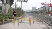 Phố đi bộ dài nhất thủ đô lắp thêm 3 lớp hàng rào barie để…chặn xe máy