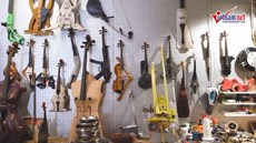 Choáng với bộ sưu tập 400 nhạc cụ tự chế vô cùng độc lạ