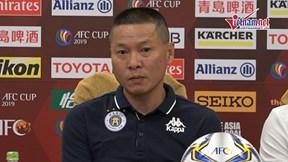 HLV Hà Nội FC: 'Quang Hải, Đình Trọng vắng mặt trận gặp Yangon'