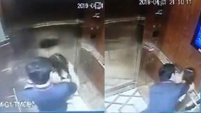 Xác định danh tính người đàn ông cưỡng hôn bé gái trong thang máy ở Sài Gòn