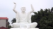 16 pho tượng La Hán ở vườn chùa bị phá hoại trong đêm