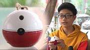 Thiết bị 'thần kì' giúp trẻ em đuổi chó dữ của nam sinh Hà Nội