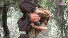 Cảnh luyện võ gian truân của các tiểu tăng Thiếu Lâm Tự