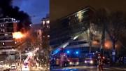 Paris: Nổ lớn, cả tòa nhà chìm trong biển lửa