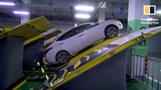 Trung Quốc thử nghiệm bãi đỗ xe kiểu mới, siêu tiết kiệm diện tích