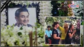 Người dân livestream, cười đùa phản cảm tại tang lễ nghệ sĩ Anh Vũ