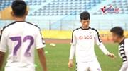 Hà Nội FC nỗ lực luyện quân quyết thắng Sanna Khánh Hoà