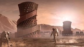 Cận cảnh 3 mẫu nhà phù hợp với sự sống trên sao Hỏa