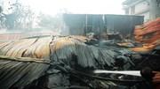 Hiện trường vụ cháy 1.000 m2 xưởng khiến 8 người tử vong ở Hà Nội