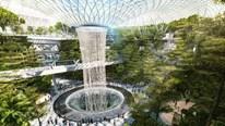 Sân bay 10 tầng có cả thác nước và rừng cây mới toanh ở Singapore