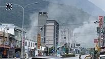 Khoảnh khắc Đài Loan rung rắc trong trận động đất mạnh nhất 2019