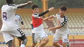 Cặp trung vệ Duy Mạnh - Đình Trọng sẽ tái xuất trong trận đối đầu Hải Phòng