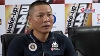 HLV Chu Đình Nghiêm 'chê' cầu thủ Hải Phòng chơi tiểu xảo