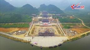 2000 người làm việc ngày đêm trên công trình chuẩn bị Đại lễ Phật đản 2019