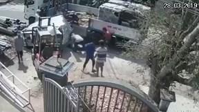Khoảnh khắc người đàn ông chạm mặt tử thần và màn giải cứu hồi hộp