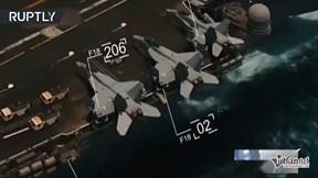 Tàu sân bay Mỹ bị máy bay do thám Iran theo dõi