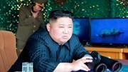 Kim Jong-un trực tiếp giám sát vụ phóng tên lửa đa nòng