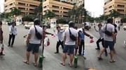 Dân mạng phản ứng với tài xế taxi rút côn đòi đánh khách Nhật