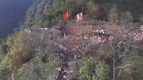 Đại biểu Vesak 'trầm trồ' trước cảnh đẹp chùa Yên Tử