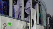 Xe buýt chở du khách lại trúng bom ở Ai Cập, 12 người bị thương