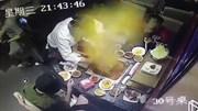 Trung Quốc: Nồi lẩu ở nhà hàng nổi tiếng bỗng dưng nổ tung tóe