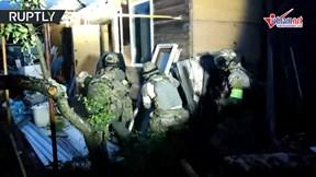 Cảnh Đặc nhiệm Nga đột kích hang ổ khủng bố