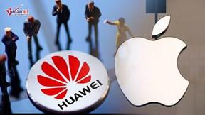 Huawei bị hàng loạt đối tác tẩy chay, Apple tiếp tục lên đỉnh