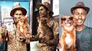 Chú chó gây sốt vì tài giả tượng điệu nghệ cùng chủ