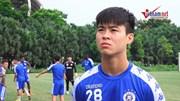 Duy Mạnh trở lại tập cùng Hà Nội FC trước trận gặp Hoàng Anh Gia Lai