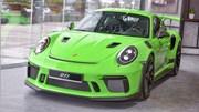 Mê mẩn với siêu xe Porsche 911 GT3 RS 2019 màu độc tại Việt Nam