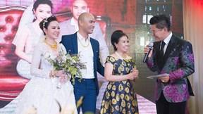 Thanh Bạch, Hồ Quang Hiếu cùng dàn nghệ sĩ mừng đám cưới nhạc sĩ A Tuân