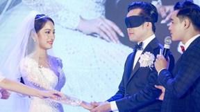 Dương Khắc Linh 'tái mặt' khi bị MC lừa hôn nhầm cô dâu