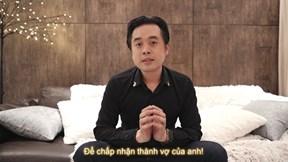 Tan chảy với clip ngôn tình Dương Khắc Linh tặng bà xã kém 13 tuổi