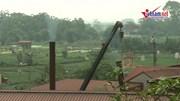 Hai xưởng ép gỗ xả khói đen, cả khu dân cư ngạt thở