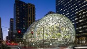 Văn phòng pha lê hình cầu khổng lồ của của đế chế thương mại Amazon