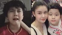 Con trai Trương Quỳnh Anh 'khóc như mưa' vì tuyển Việt Nam hụt ngôi vô địch