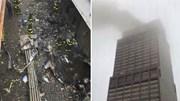 Trực thăng đâm vào tòa cao ốc ở New York, ngỡ thảm họa 11/9 lặp lại