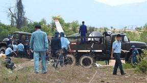 Máy bay quân sự rơi ở Khánh Hòa, 2 chiến sĩ hy sinh