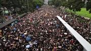 'Biển người áo đen'  xuống đường biểu tình đòi lãnh đạo Hong Kong từ chức