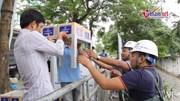 Chuyên gia Nhật biến bùn sông Tô Lịch thành CO2 và nước