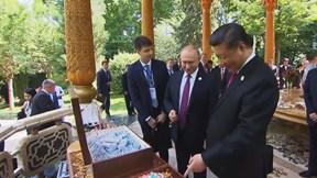 Khám phá những món quà sinh nhật đặc biệt TT Putin tặng ông Tập Cận Bình