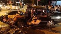 Ô tô chạy lấn làn, đâm trực diện xe đi ngược chiều gây tai nạn nghiêm trọng